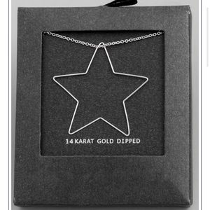 White Gold Dipped ⭐️Star Necklace